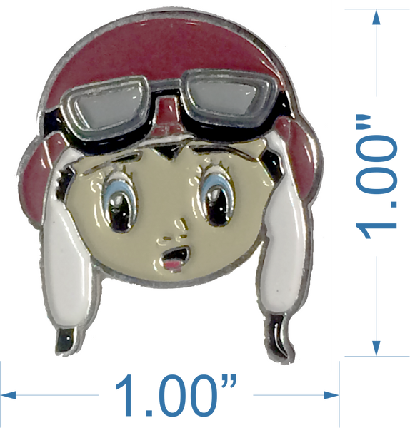 FlyBoy Hat Pin