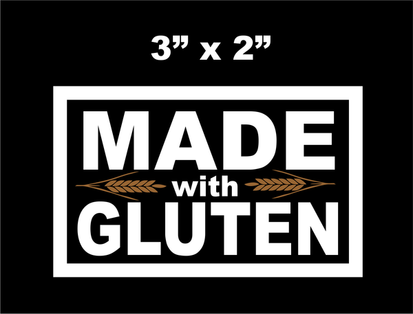 Made With Gluten Patch