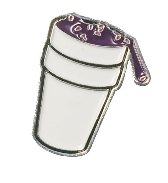 "Promethazine ""Lean"" Cup Hat Pin"