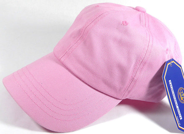 Custom Pink Dad Hat Embroidery $15 No Minimums