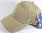 custom khaki dad hat no minimums