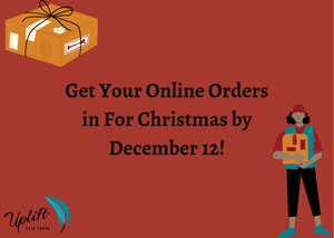 Get your Online Christmas Shopping Done by December 12th 2020