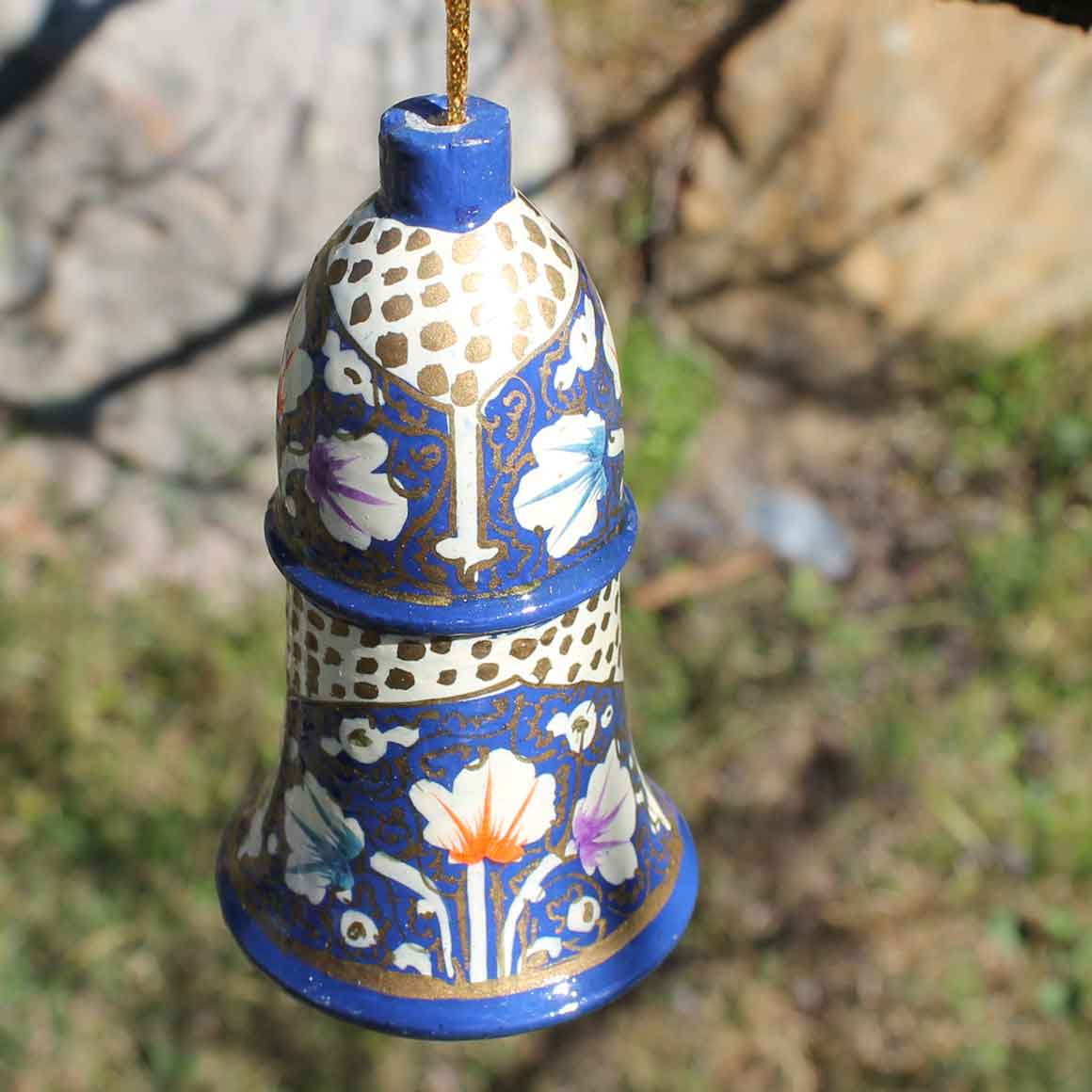 Fair Trade Large Christmas Bell Decoration