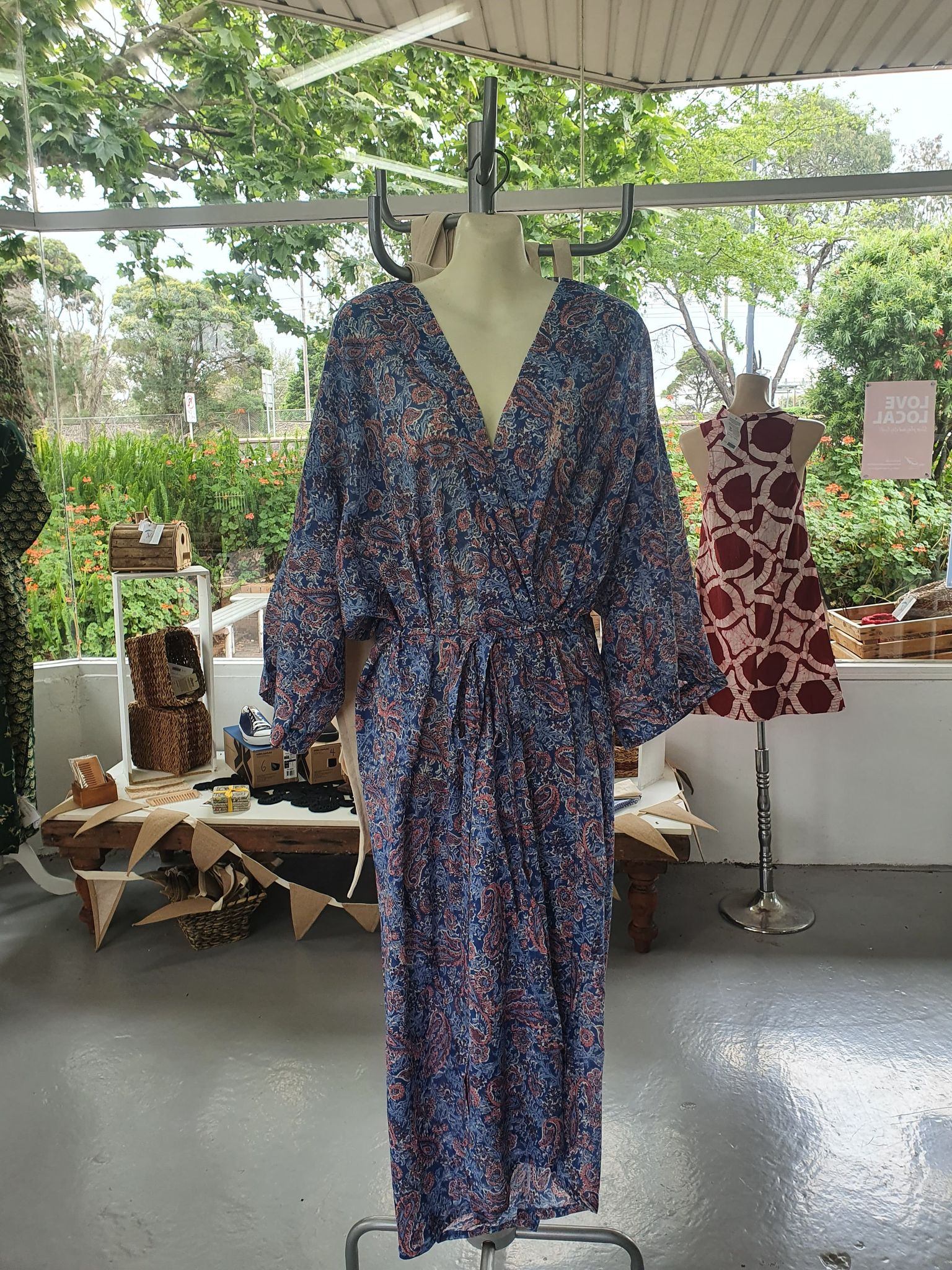 Fair Trade Cotton Robe Assorted