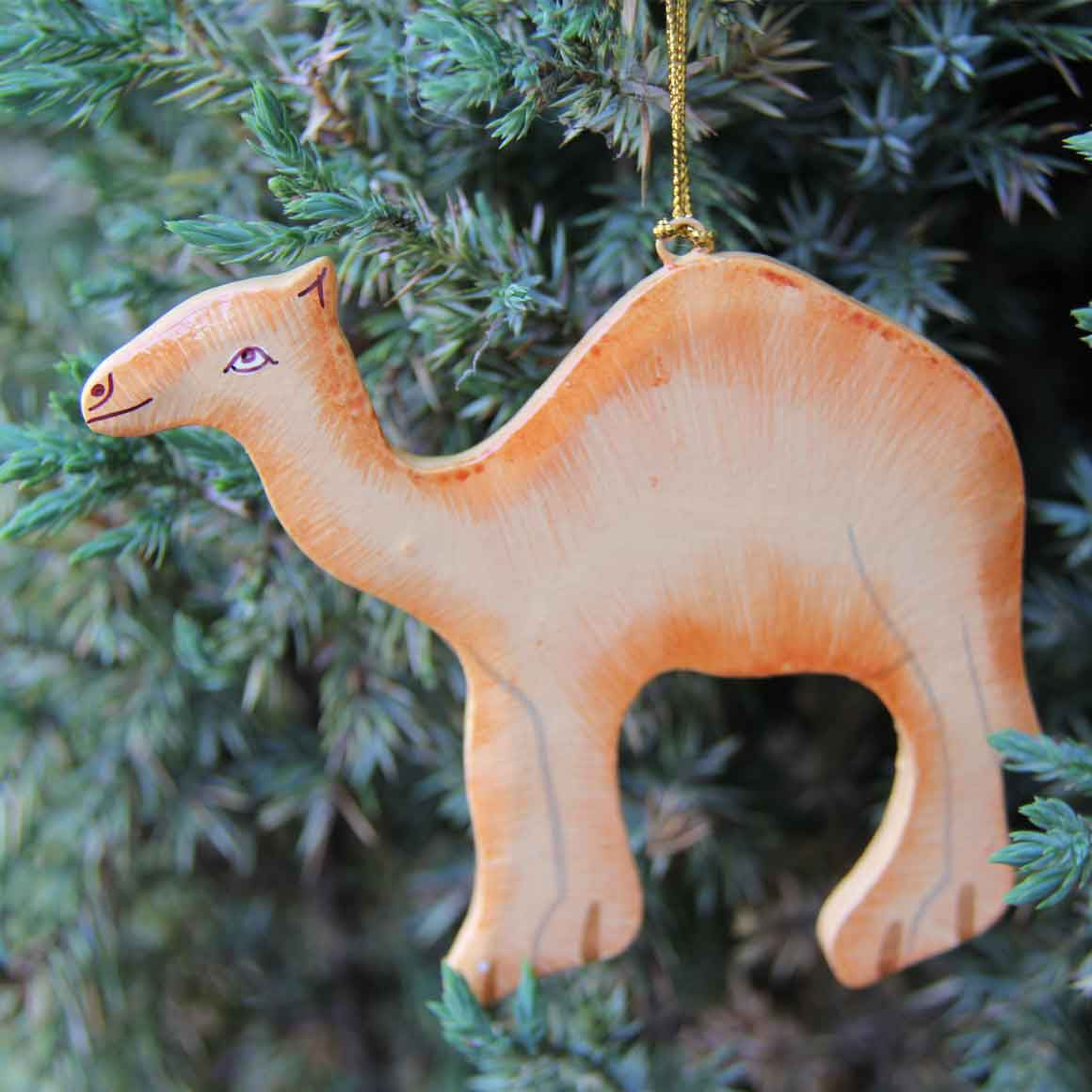 Fair Trade Hanging Camel Decoration