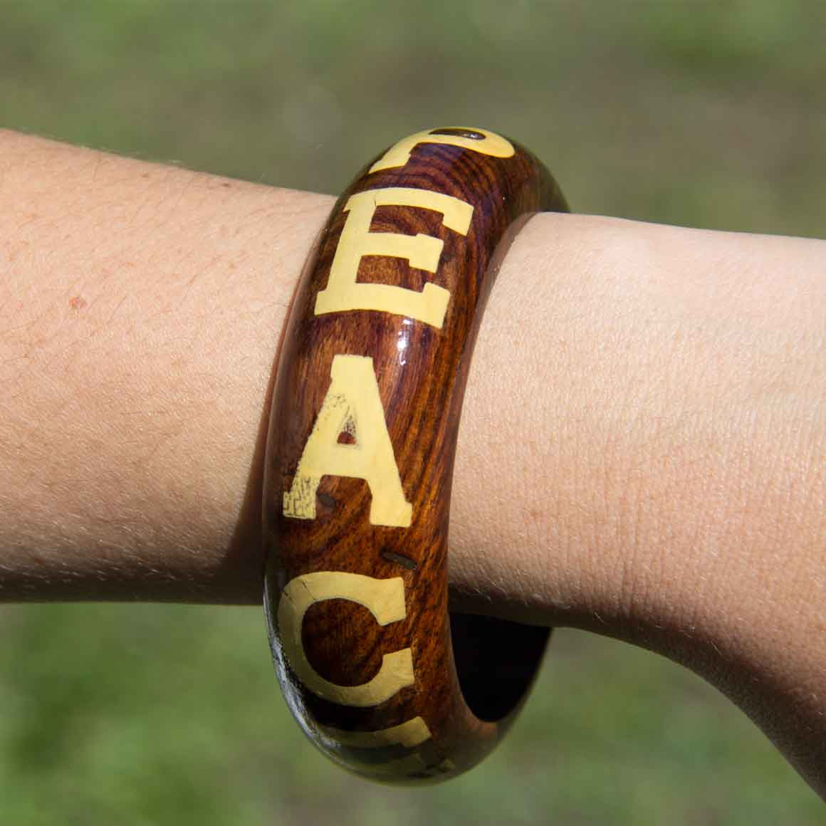 Fair Trade Ethical Wooden Bangle