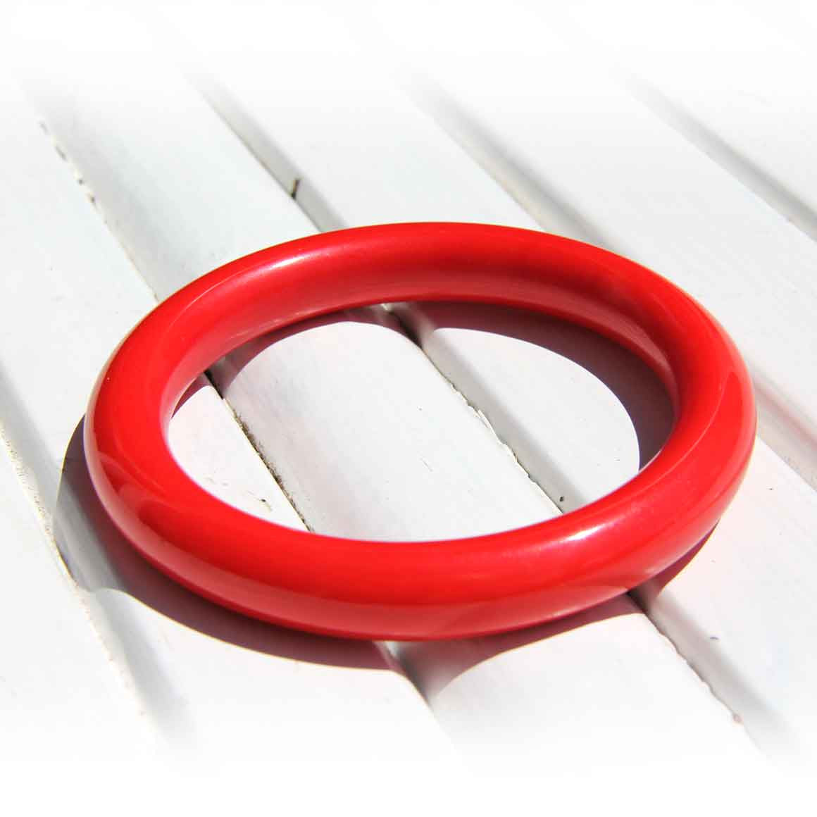 Fair Trade Ethical Resin Plain Bangle