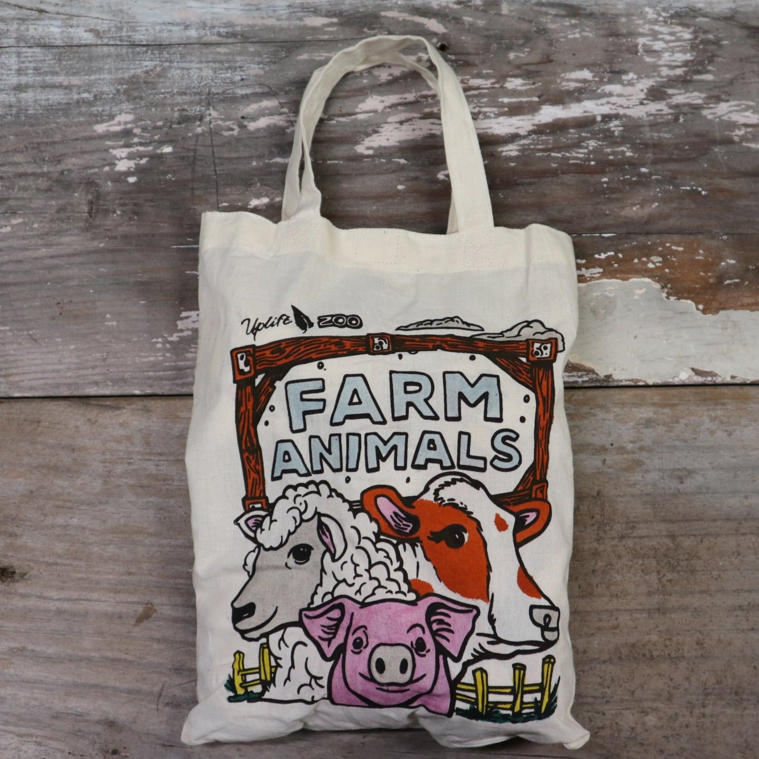 Fair Trade Farm Animal Bag
