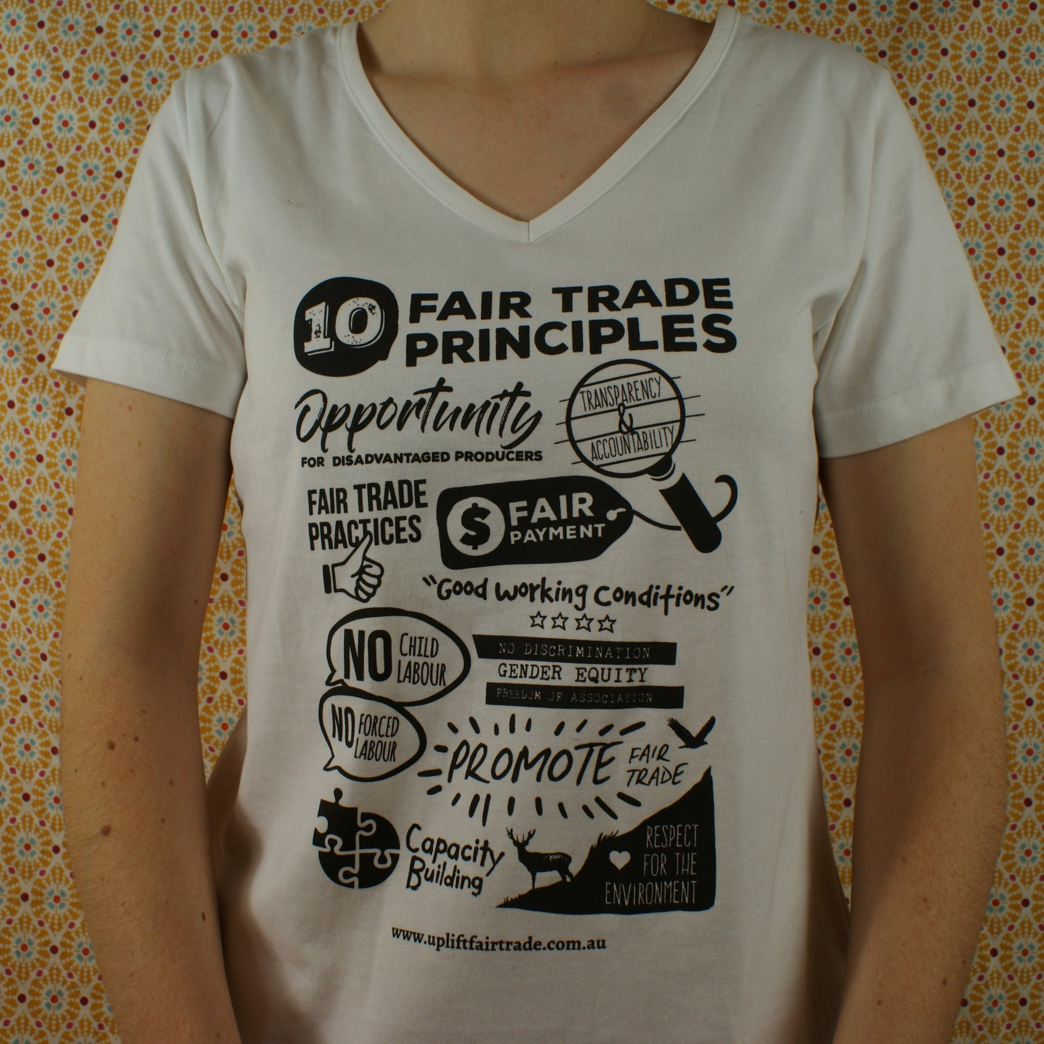 Fairtrade 10 Principles of Fair Trade T-shirt