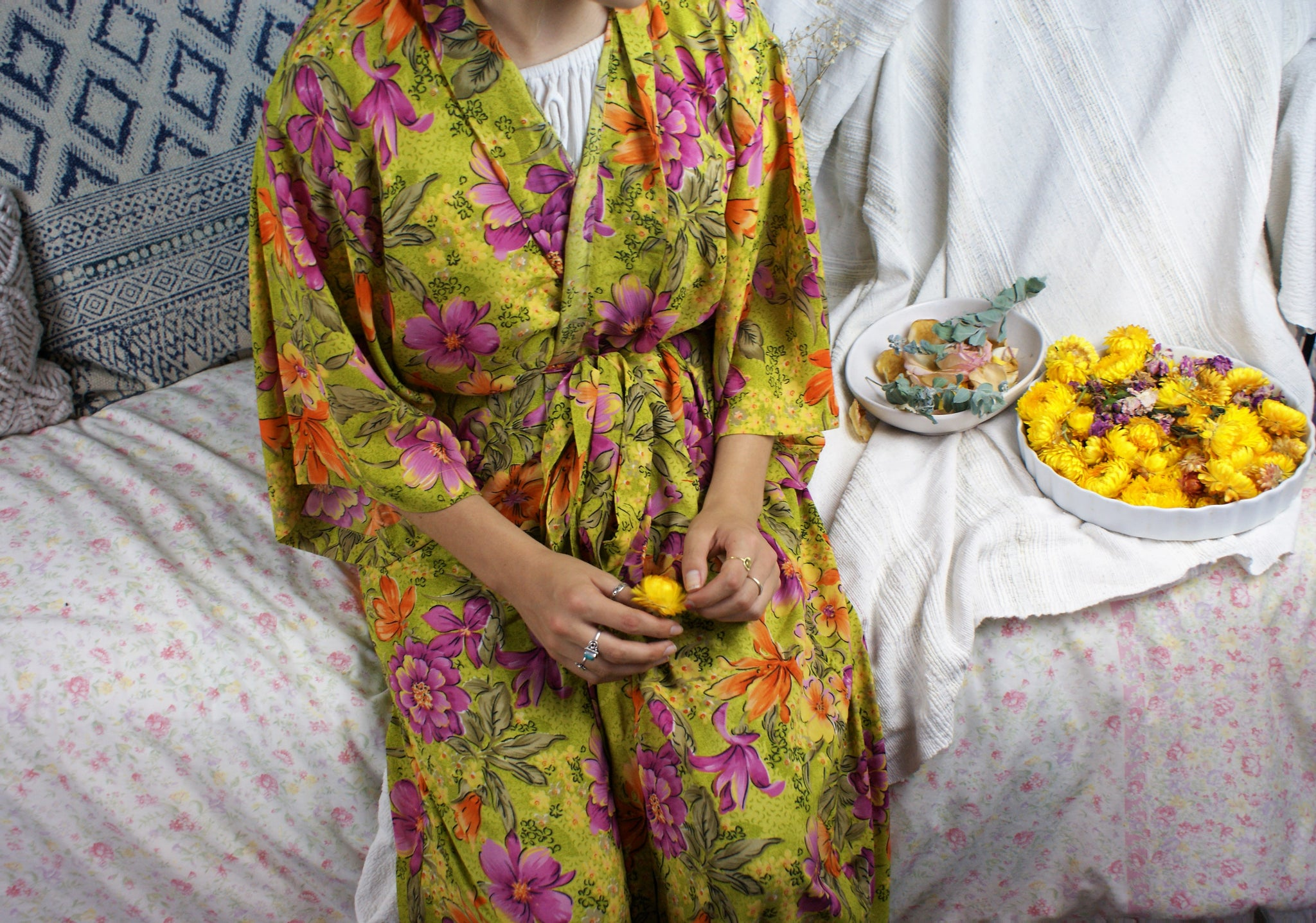 Fair Trade Tropical Nights Robe