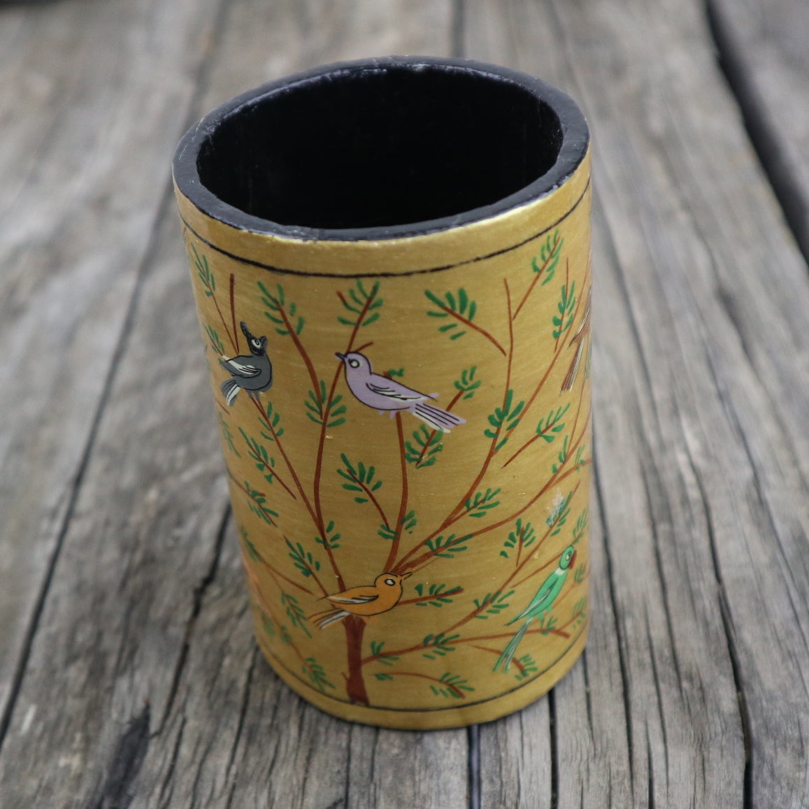 Fair Trade Ethical Paper Mache Pen Holder