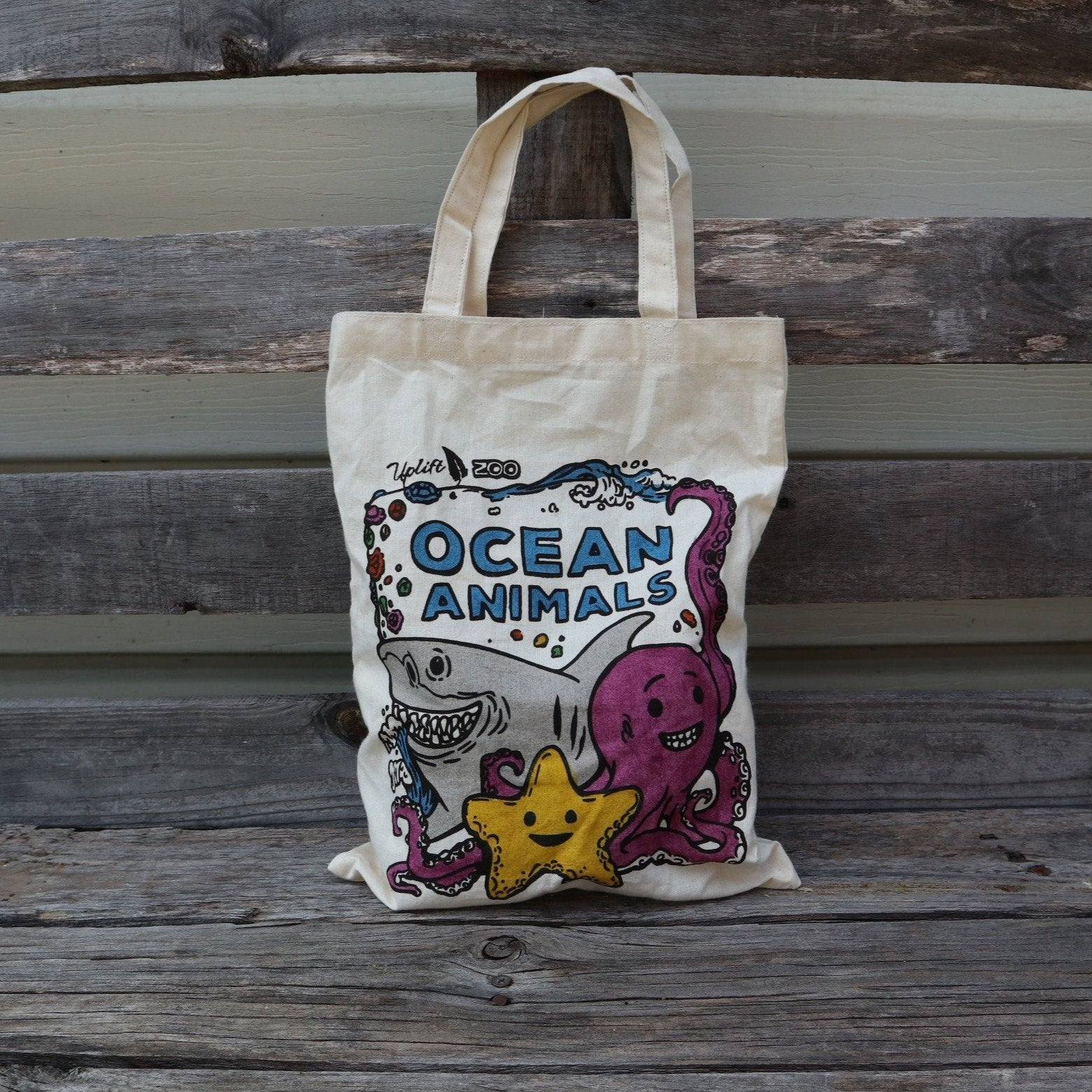 Fair Trade Ocean Animal Bag Toy