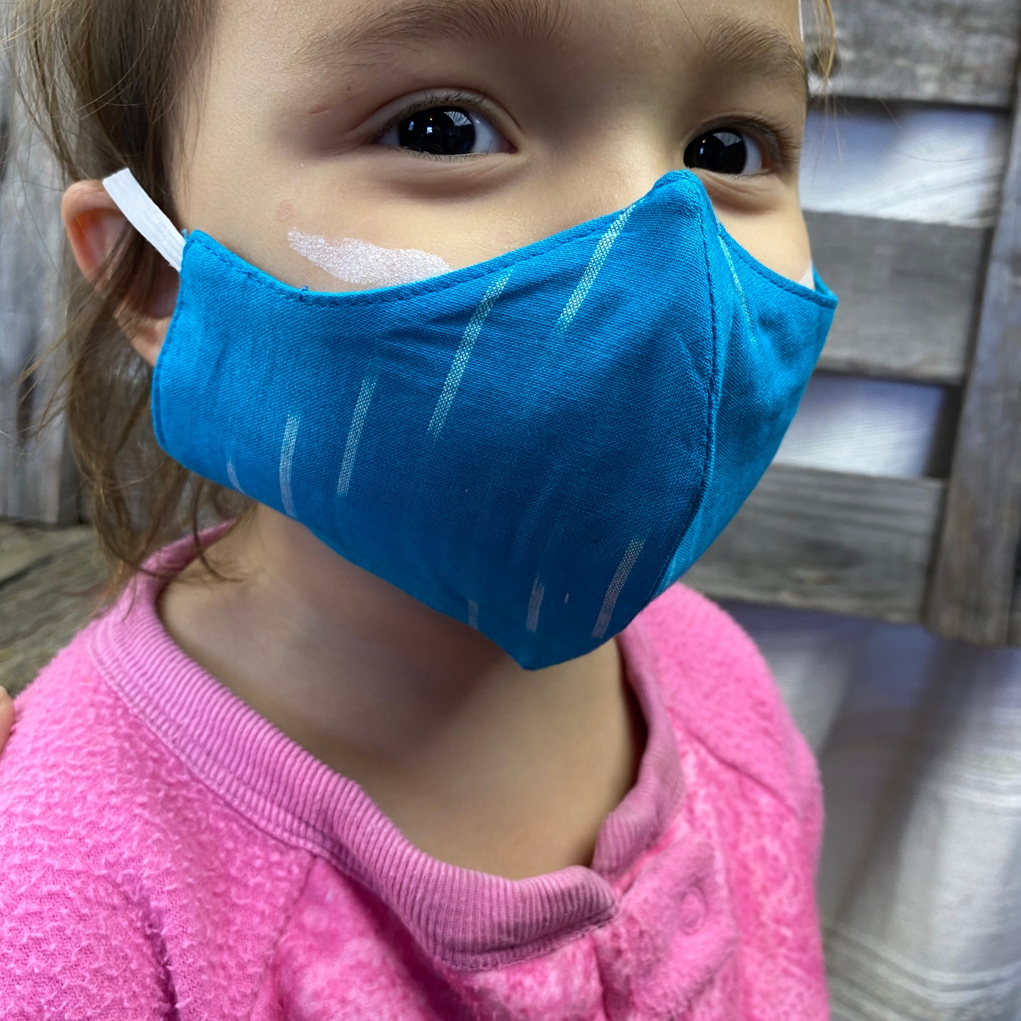 Fair Trade Child's 3 Layer V Shape Mask