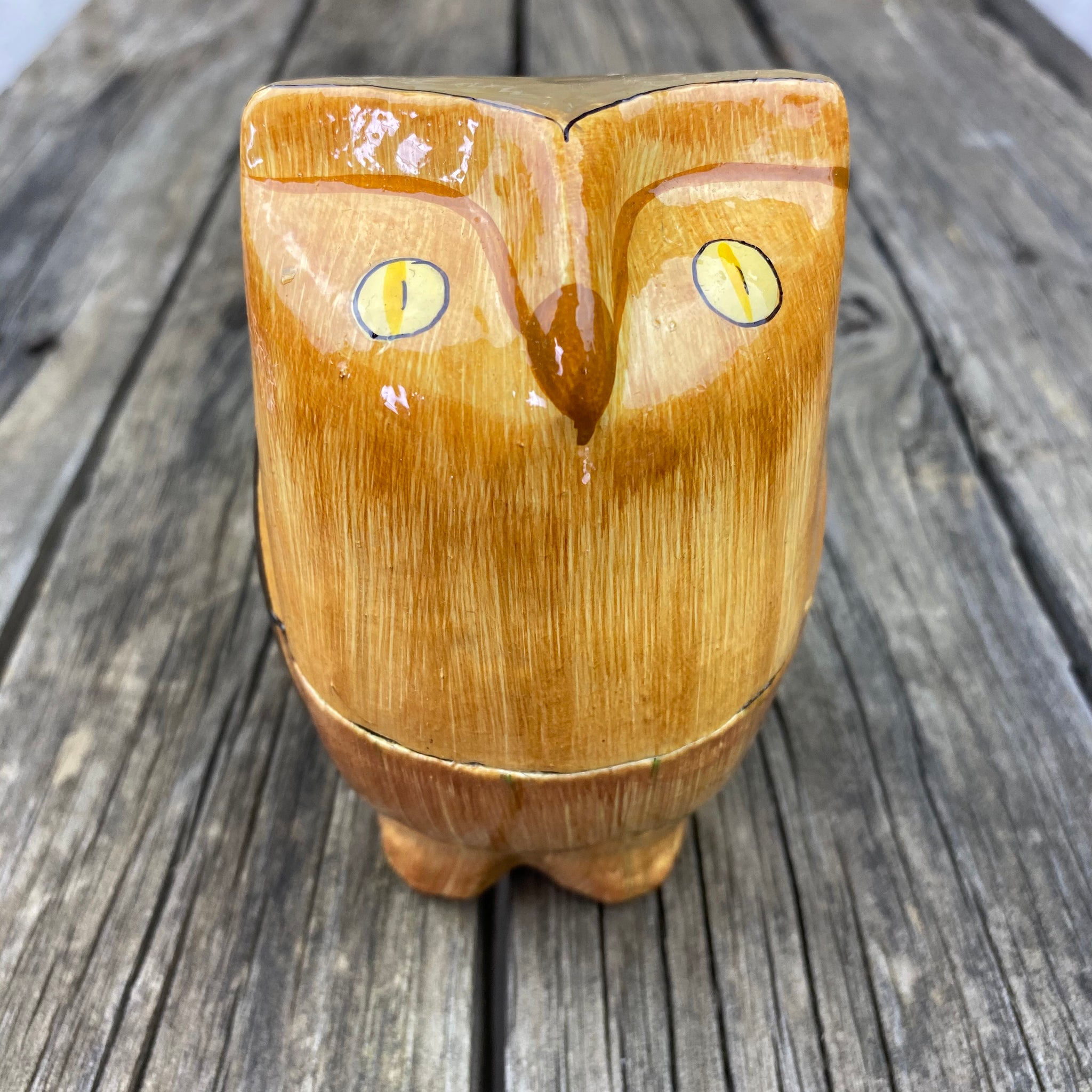 Fair Trade Owl Trinket Box
