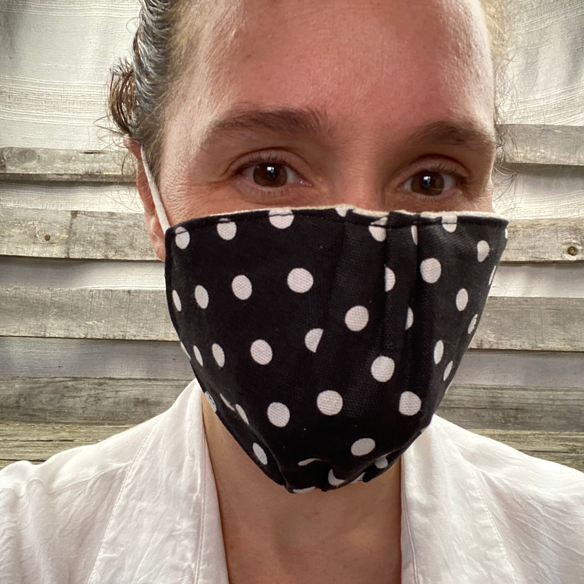 Fair Trade Organic Cotton Three Layer Face Mask