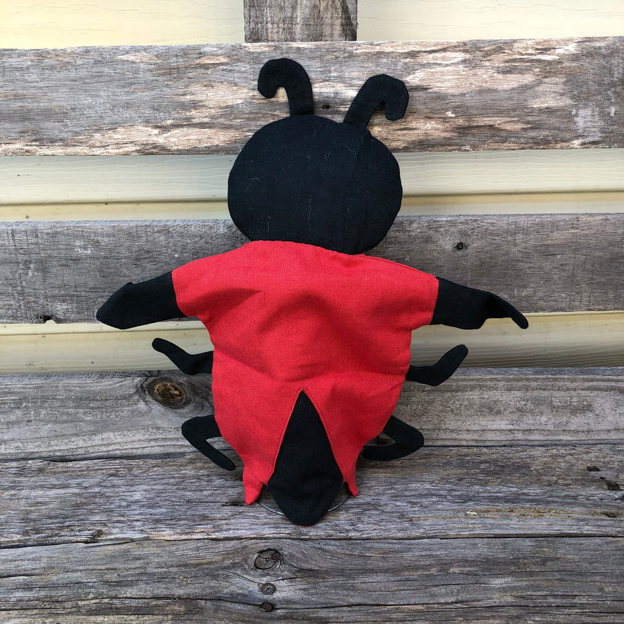 Fair Trade Lady Bird Puppet Toy
