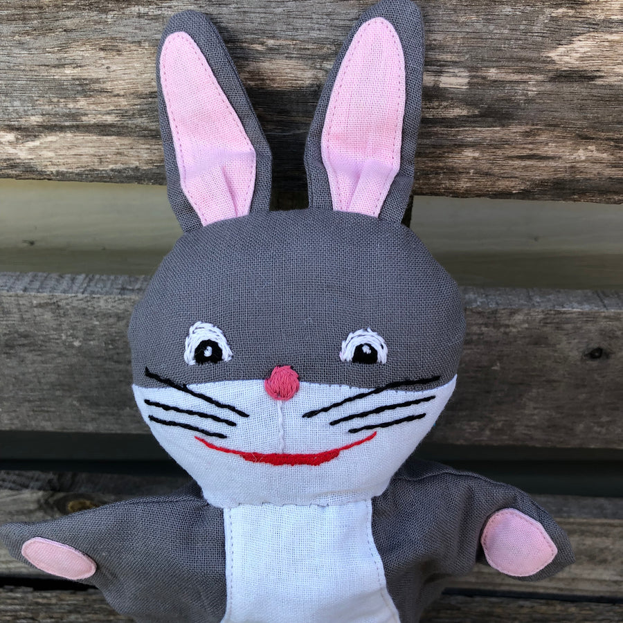 Fair Trade Rabbit Puppet