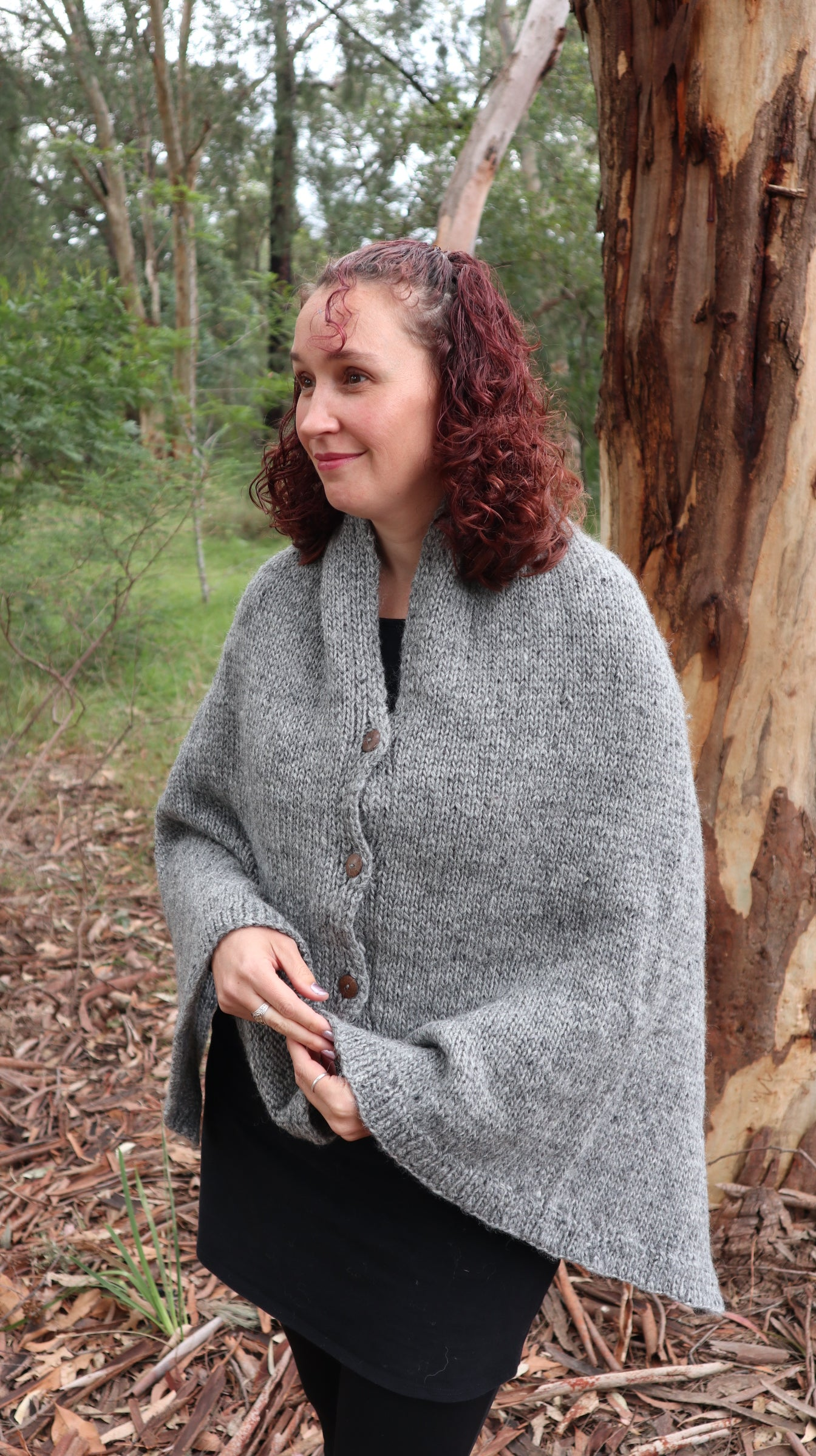 Fair Trade Ethical Women's Woollen Poncho