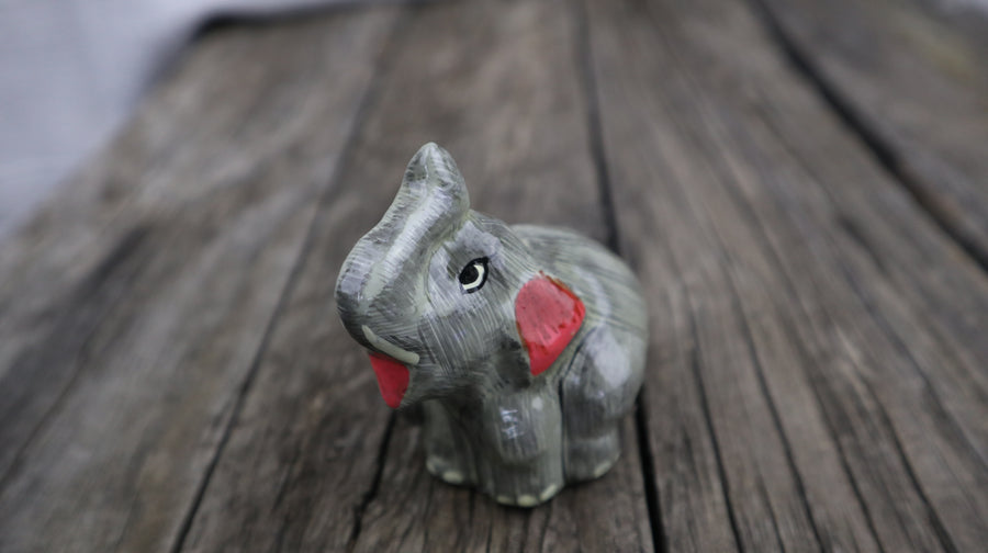 Fair Trade Ethical Elephant Ornament