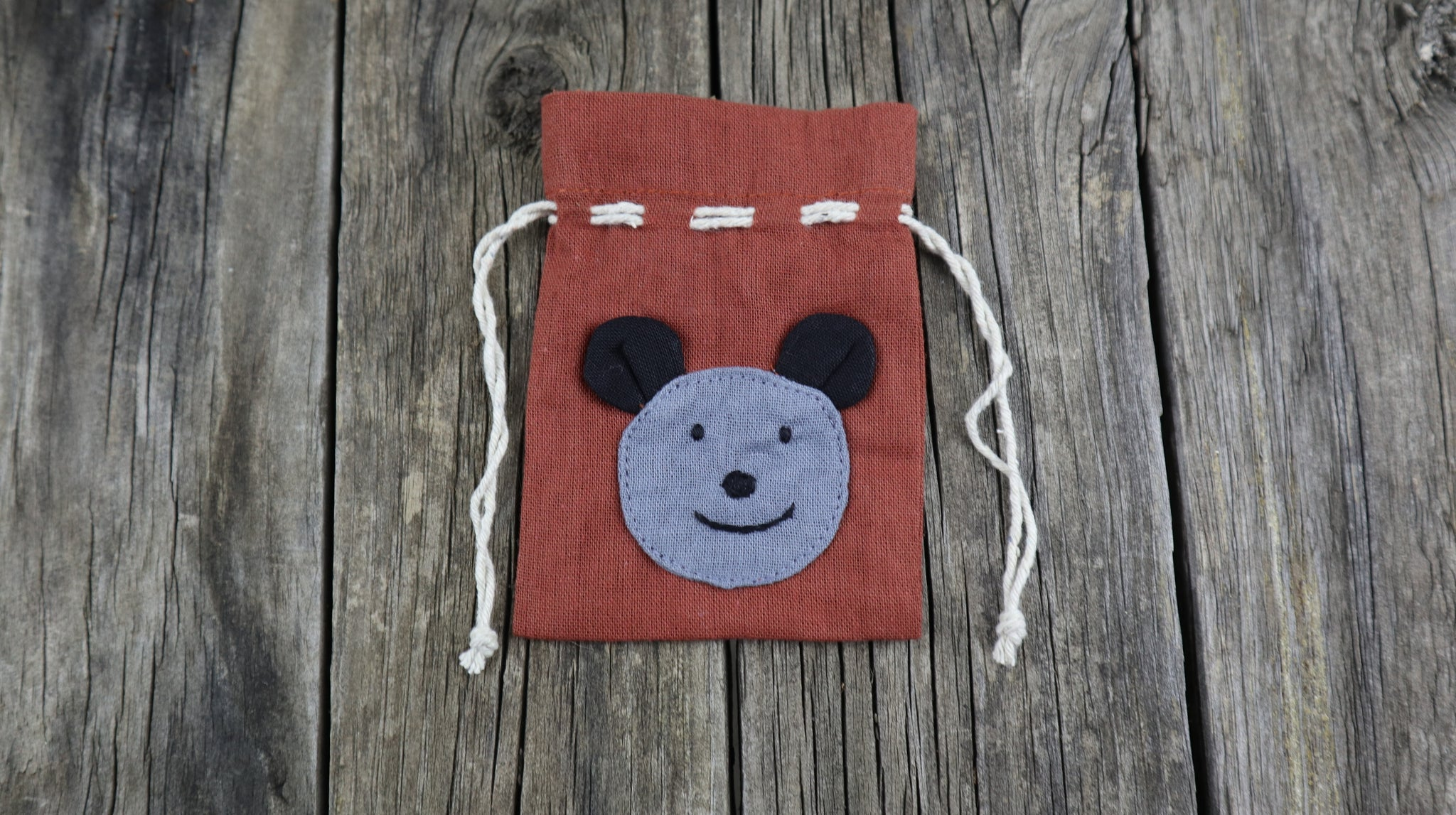 Fair Trade Ethical Small Cotton Bag Koala