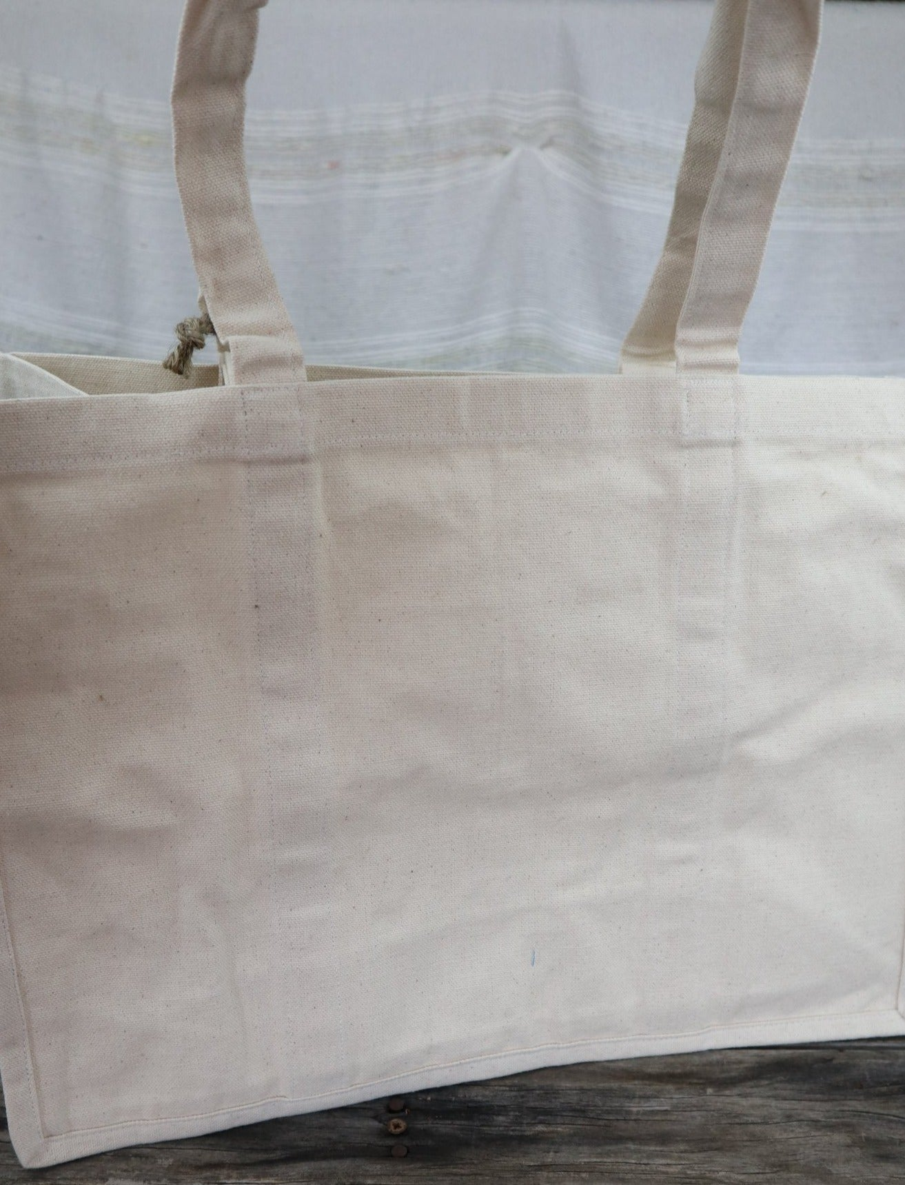 Fair Trade Hand Woven Cotton Shopping Bag