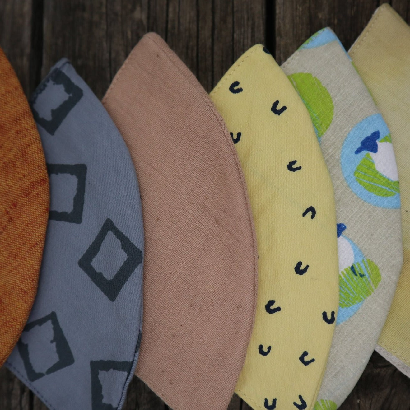 Fair Trade Ethical Child's 3 Layered Rounded Mask