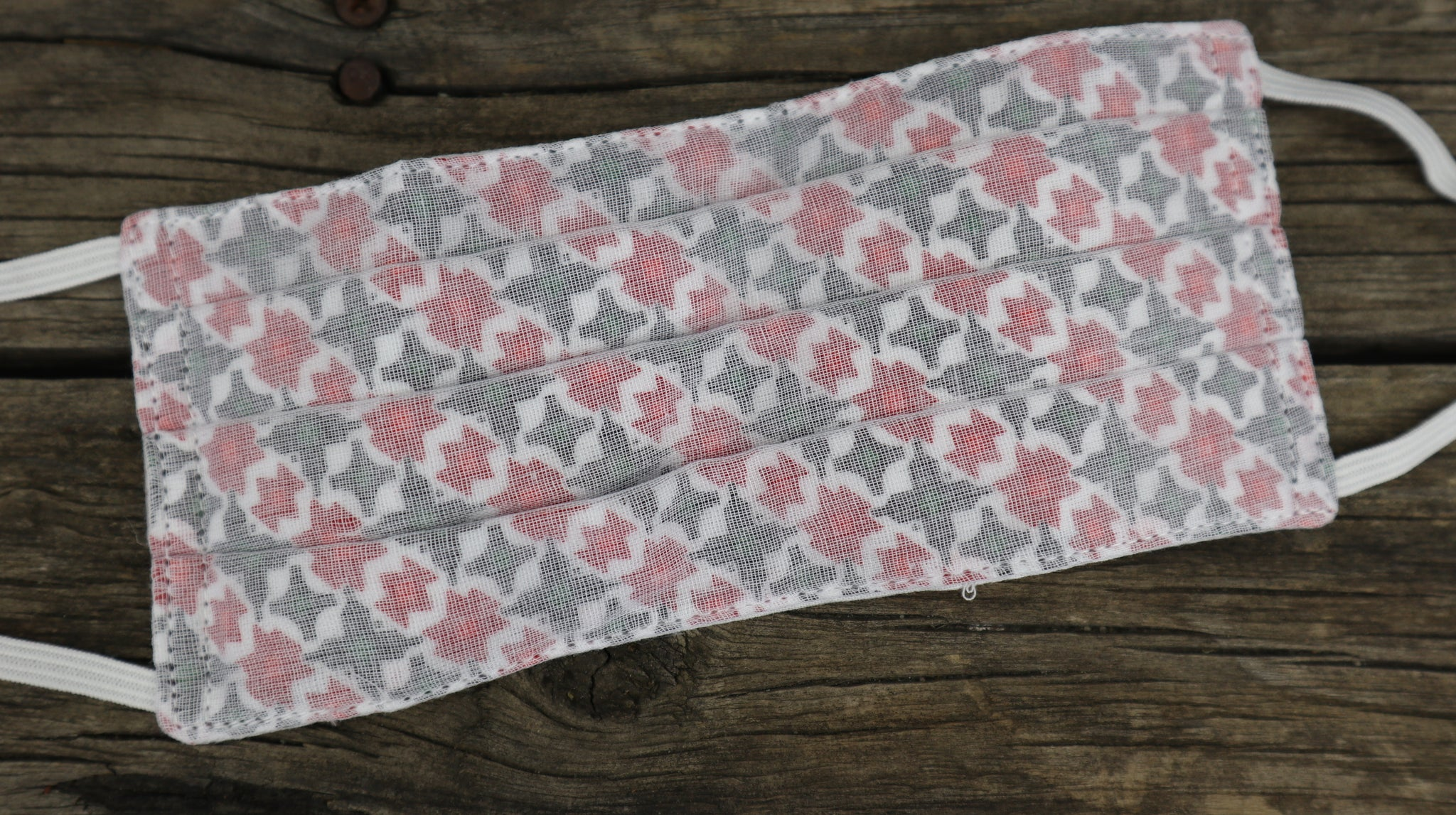 Fair Trade Ethical 3 Layer Cotton Face Masks Nepalese Pattern