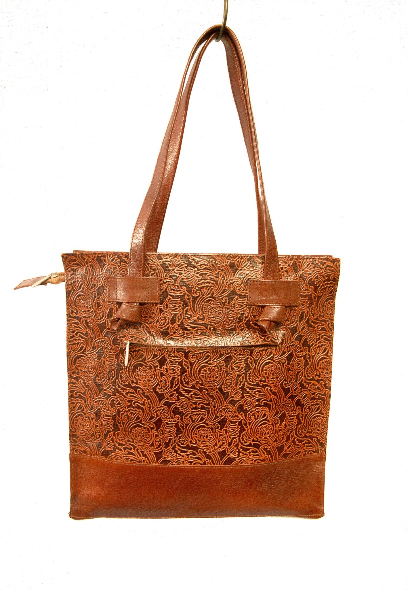 Fair Trade Leather Handbag