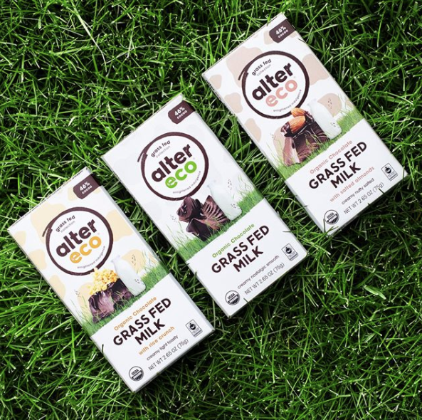 Fairtrade Organic Milk Chocolate Bars