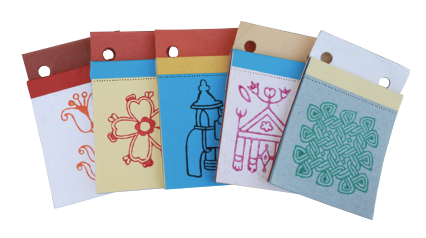 Fair Trade Ethical Notepad (Assorted)