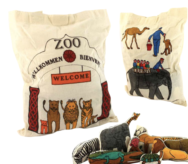 Fair Trade Zoo Bag