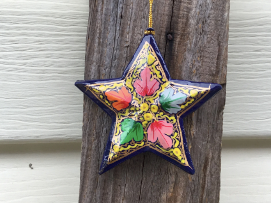 Fair Trade Large Star Decoration Assorted