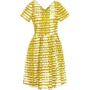 Verona Dress Monsoon Mustard