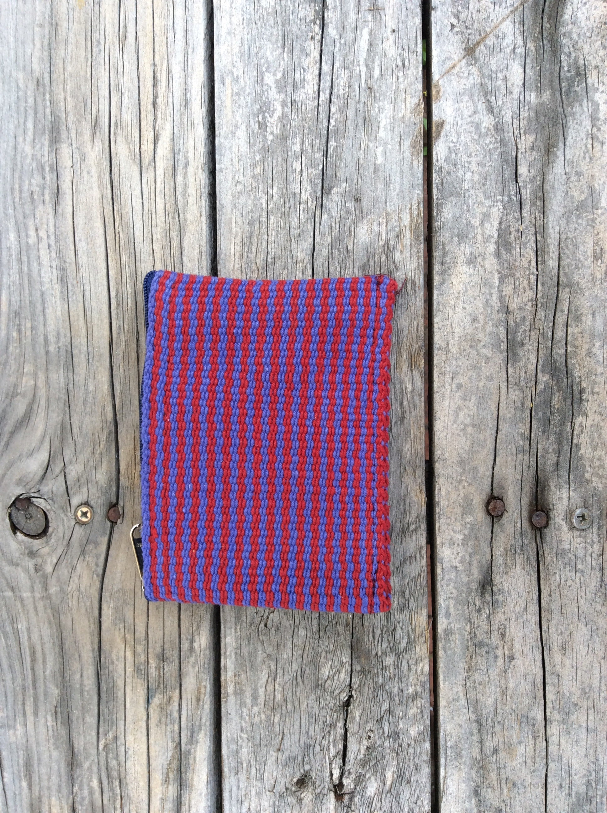 Fair Trade Ethical Hand Woven Cotton Coin Purse