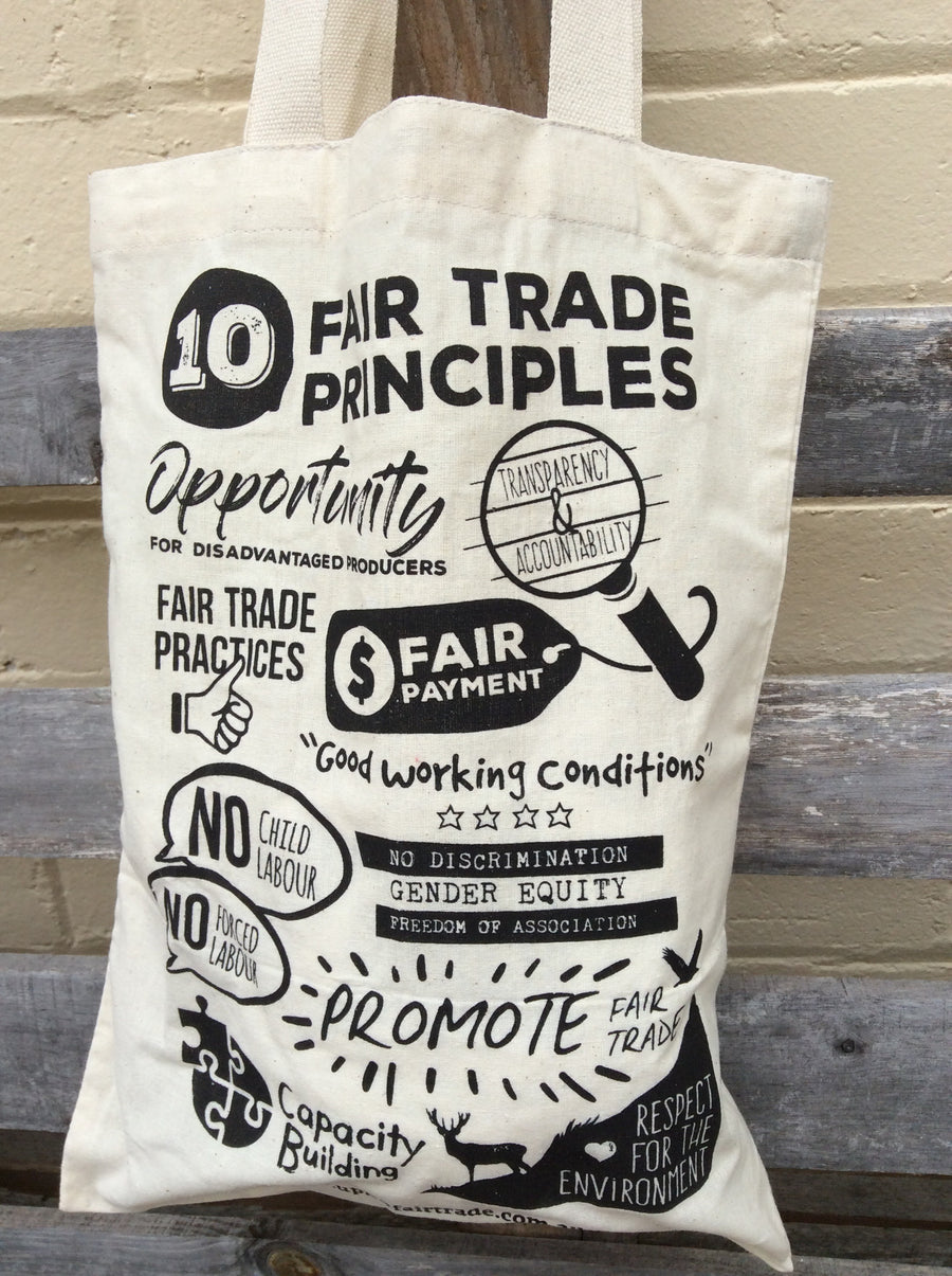 FairTrade Principles tote bag
