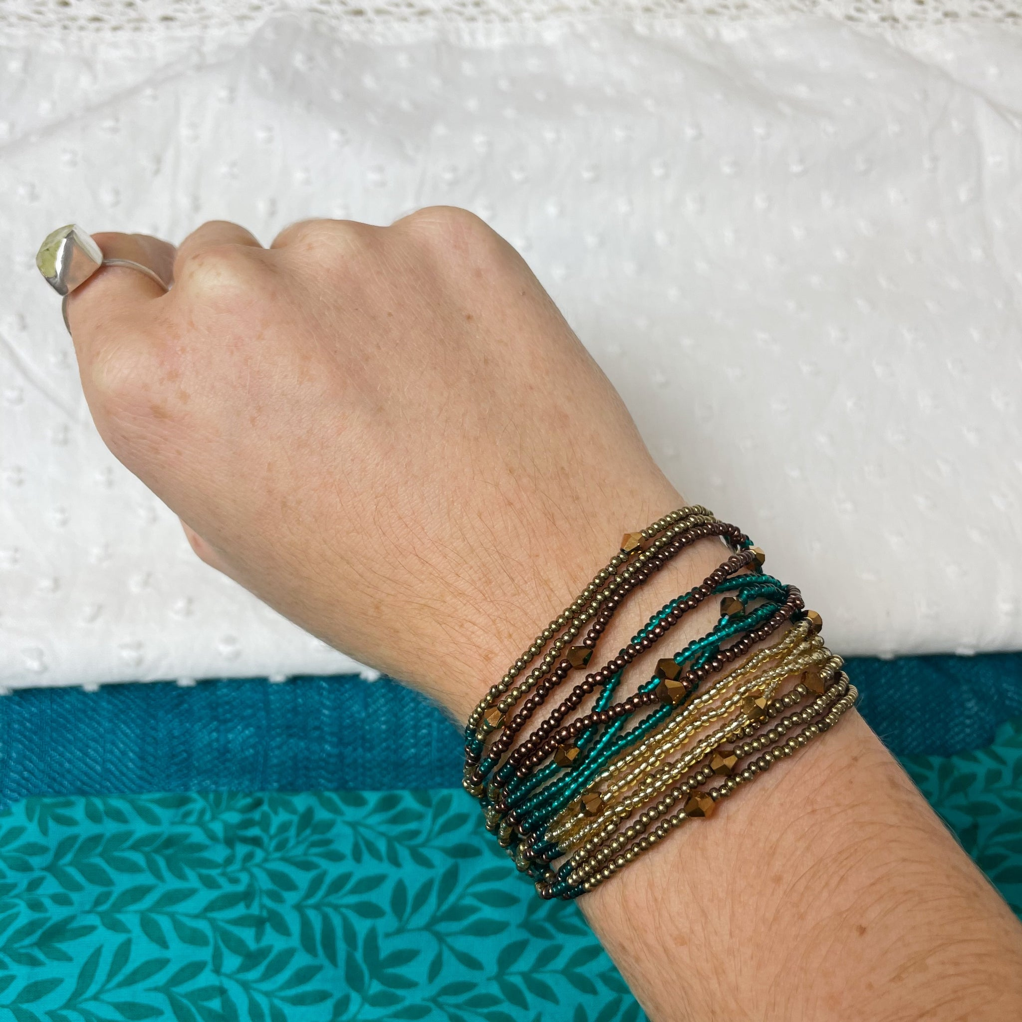 Fair Trade Beaded Bracelets in Assorted Colours