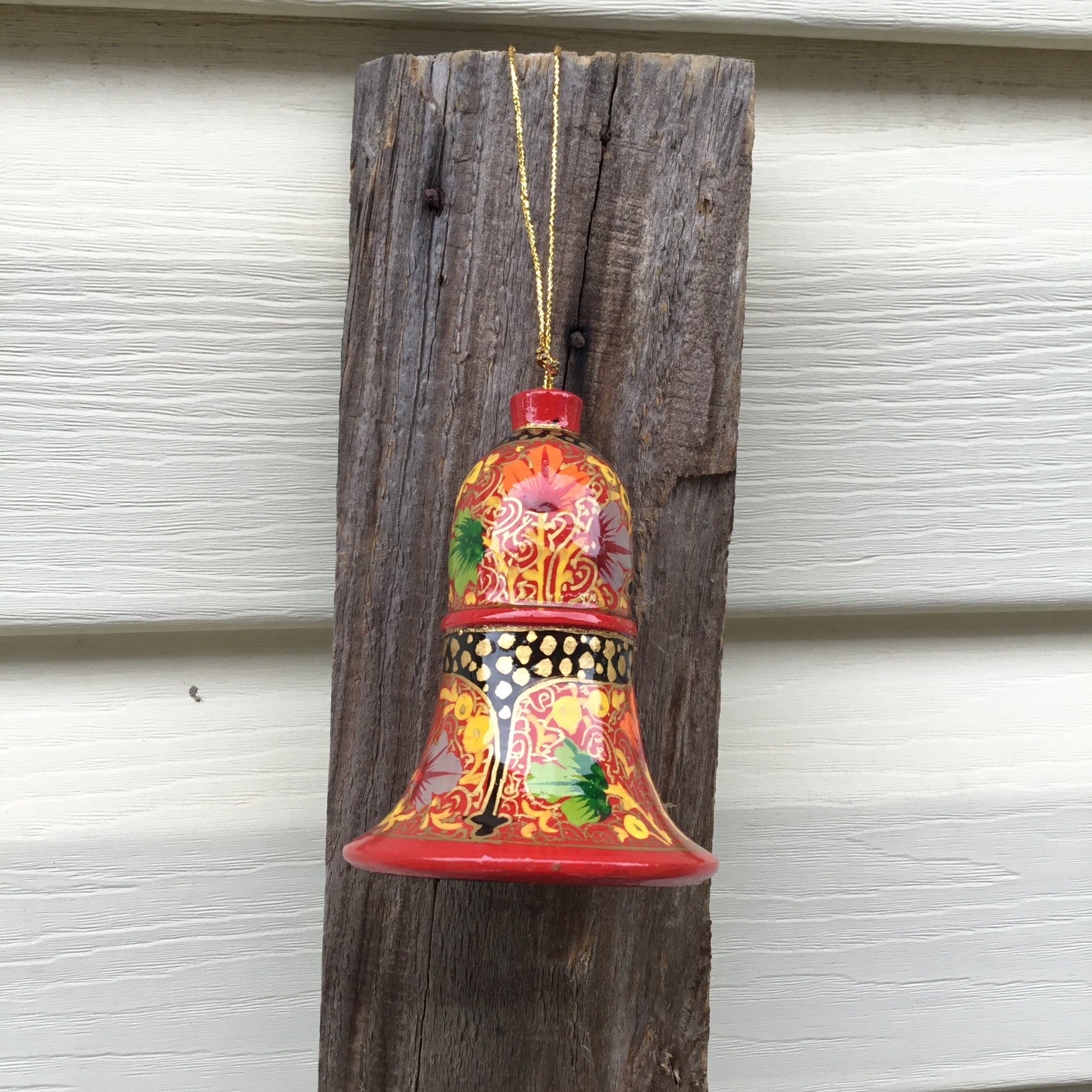 Fair Trade Large Bell Multi Design