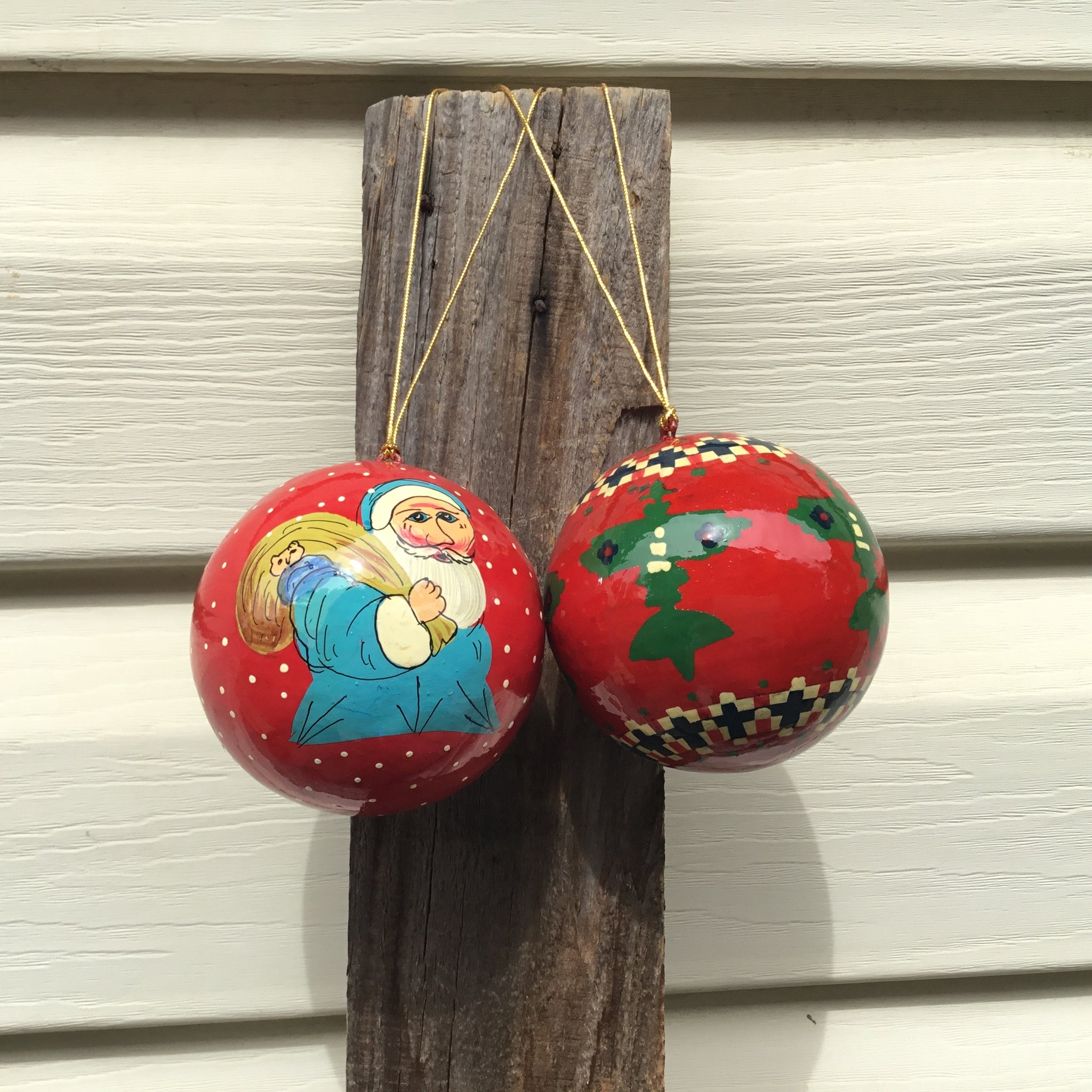 Fair Trade Picture Baubles