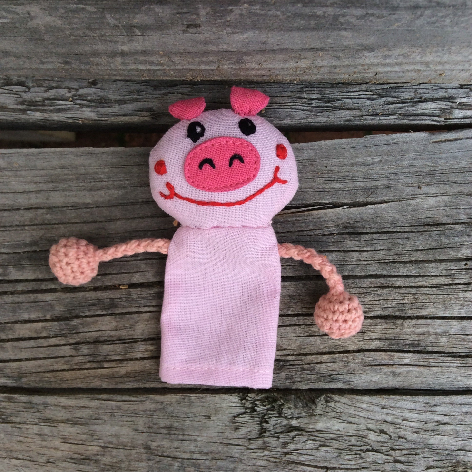 Fair Trade Animal Finger Puppet