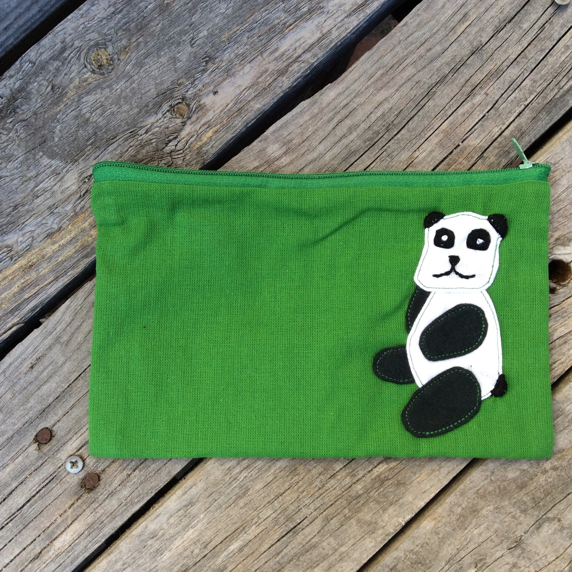 Animal Flat Pencil Case