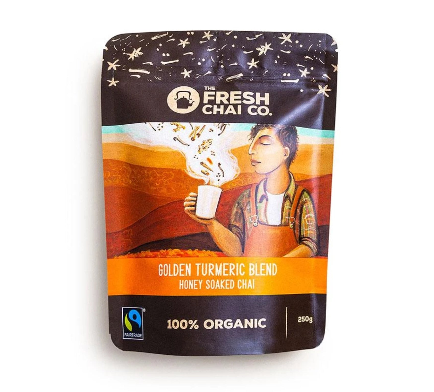 Fairtrade Organic Fresh Honey Soaked Chai