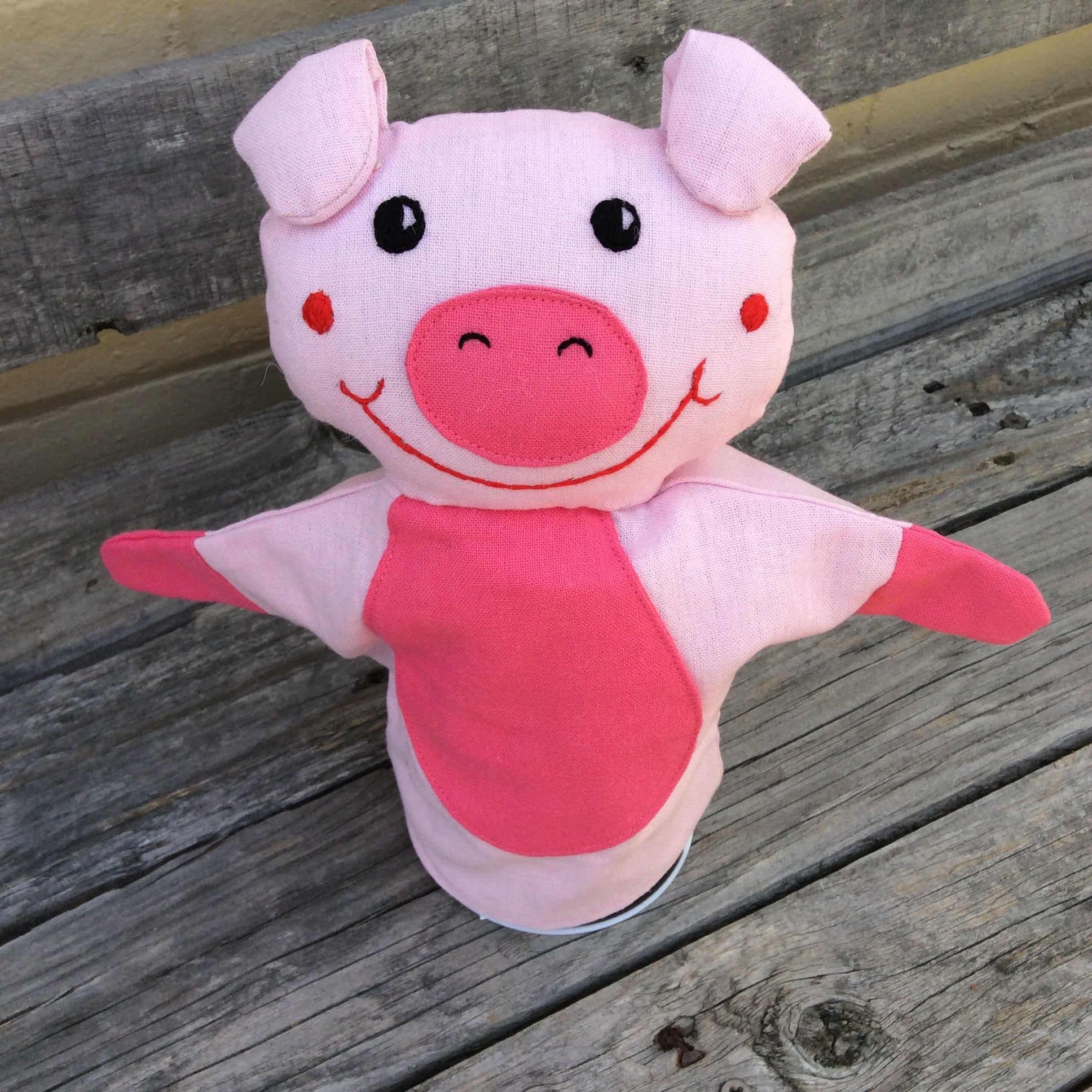 Puppet Pig Toy