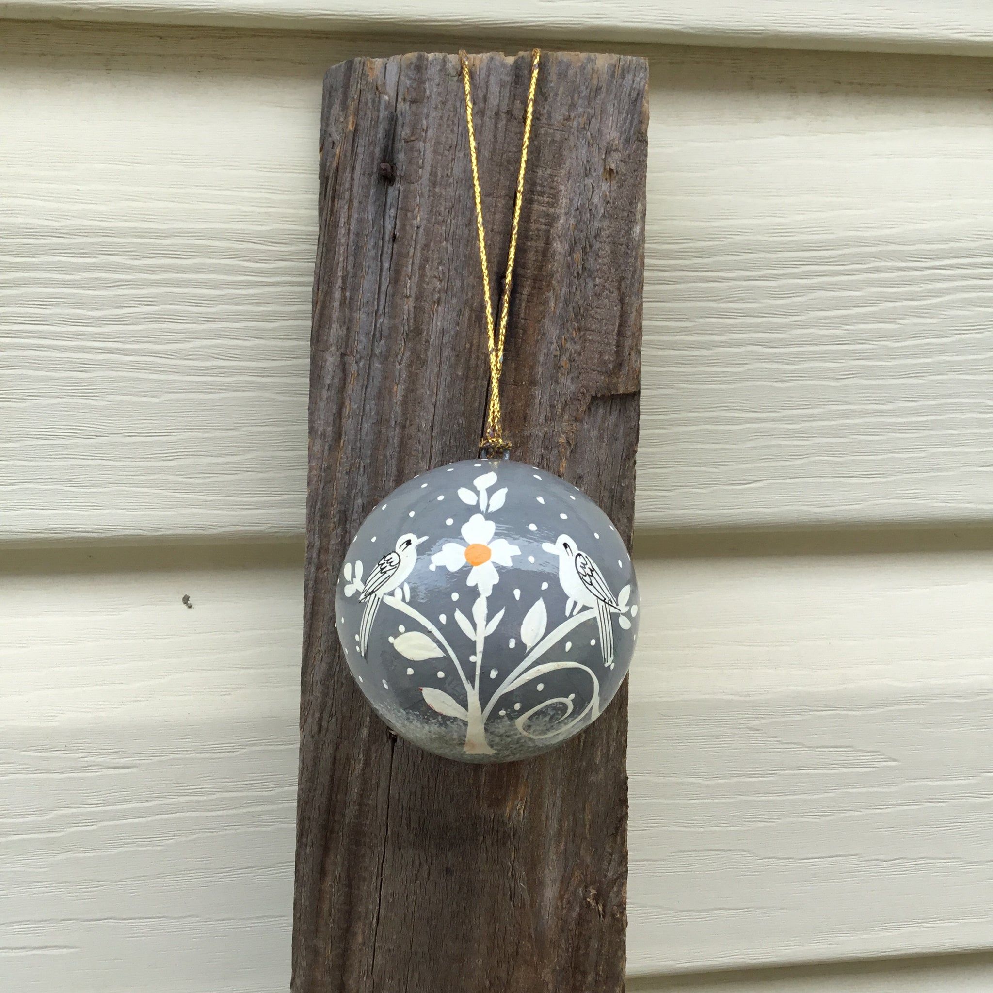Bird and Tree Bauble