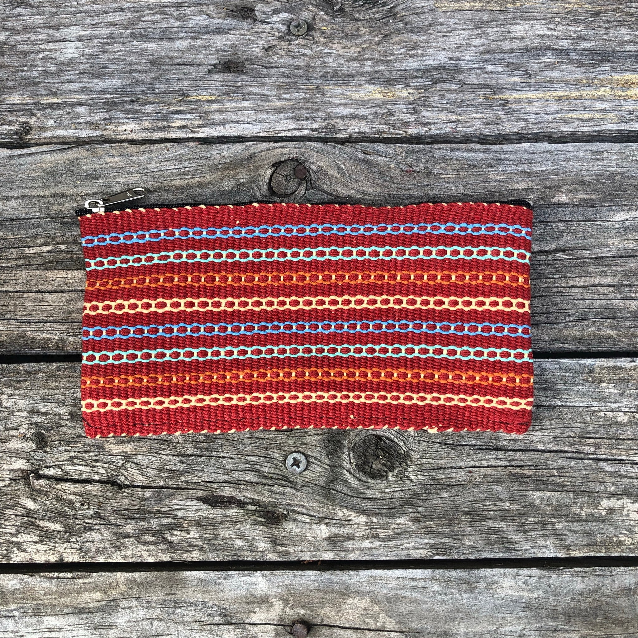 Fair Trade Ethical Hand Woven Cotton Money Purse