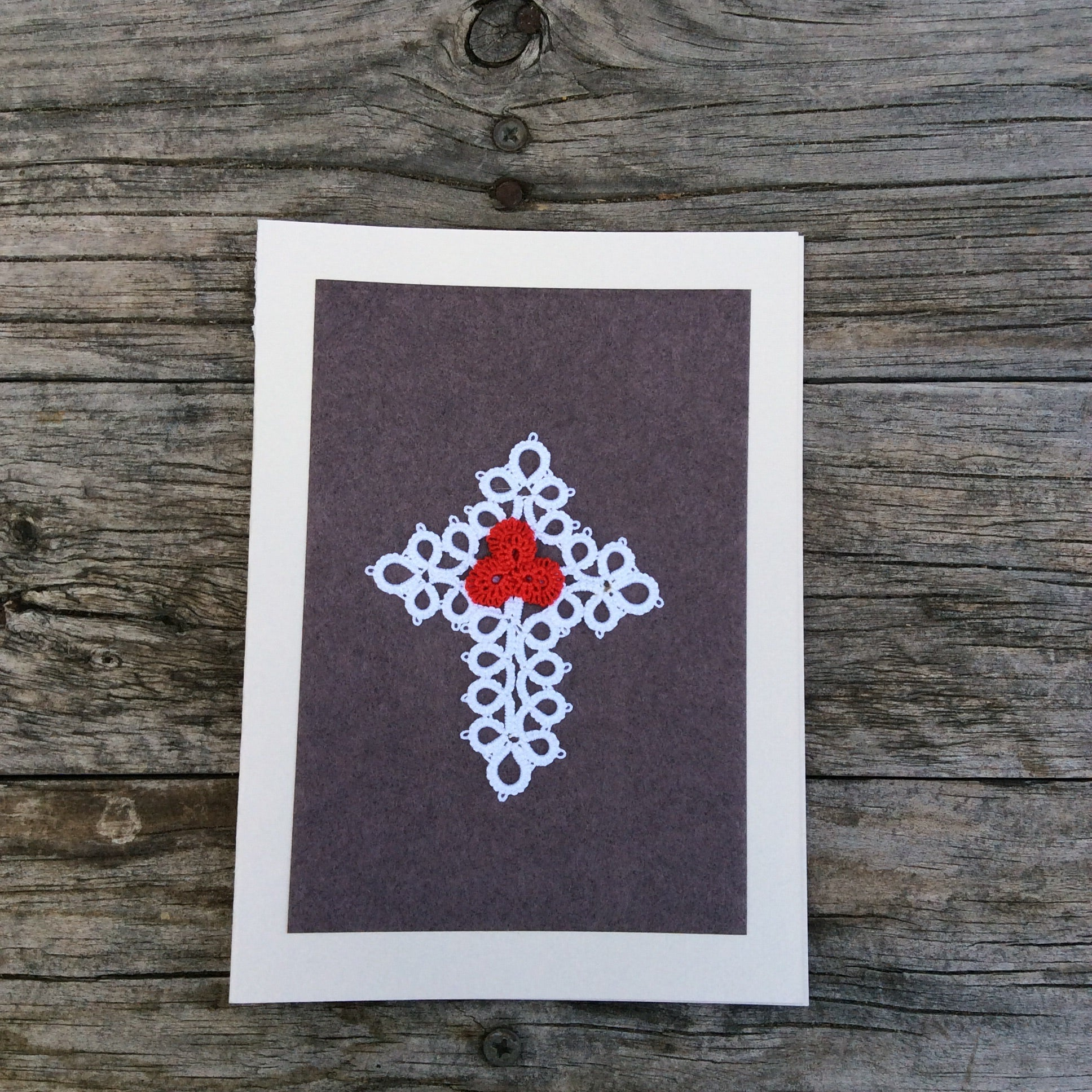 Christmas Tatted Card