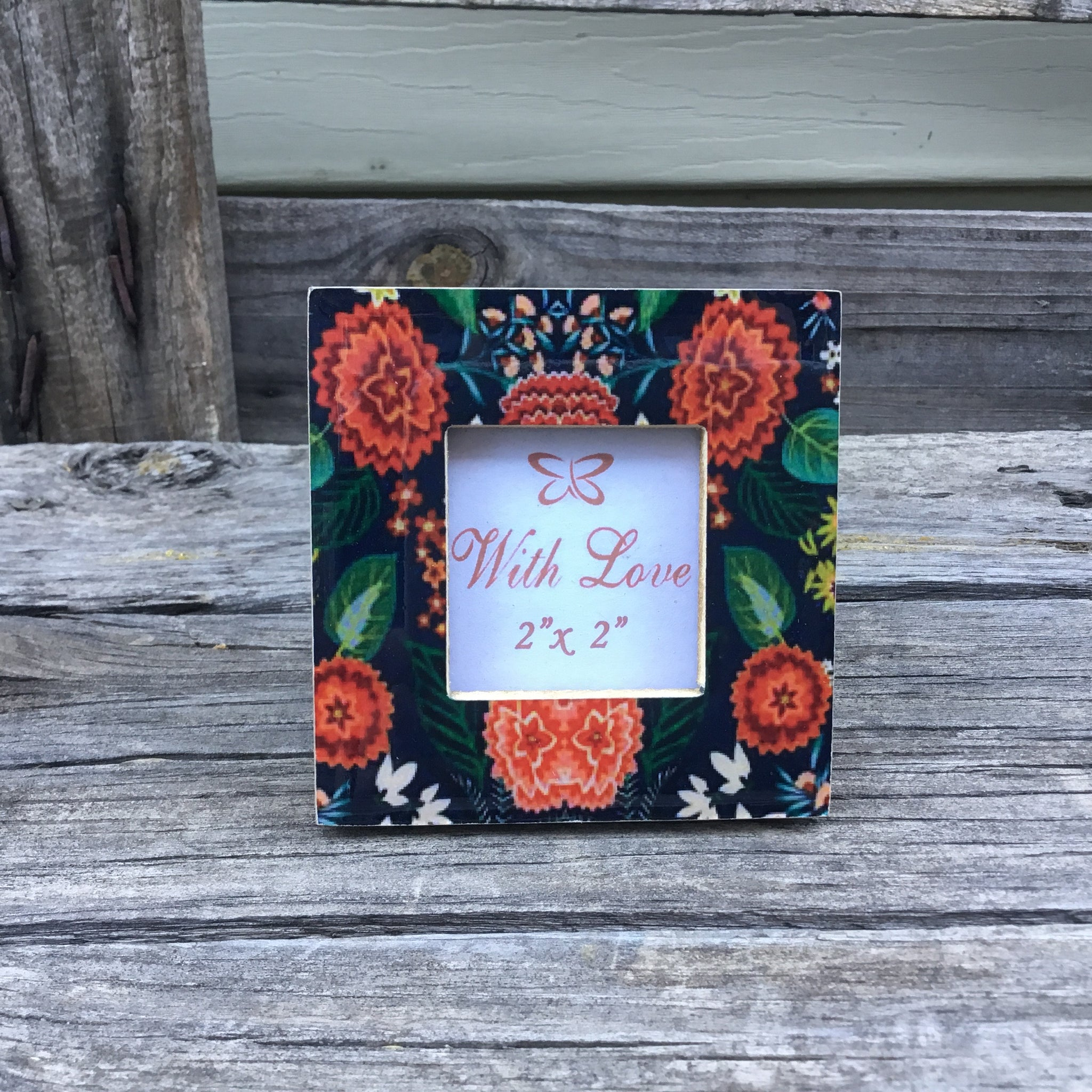 Mini Floral Photo Frame