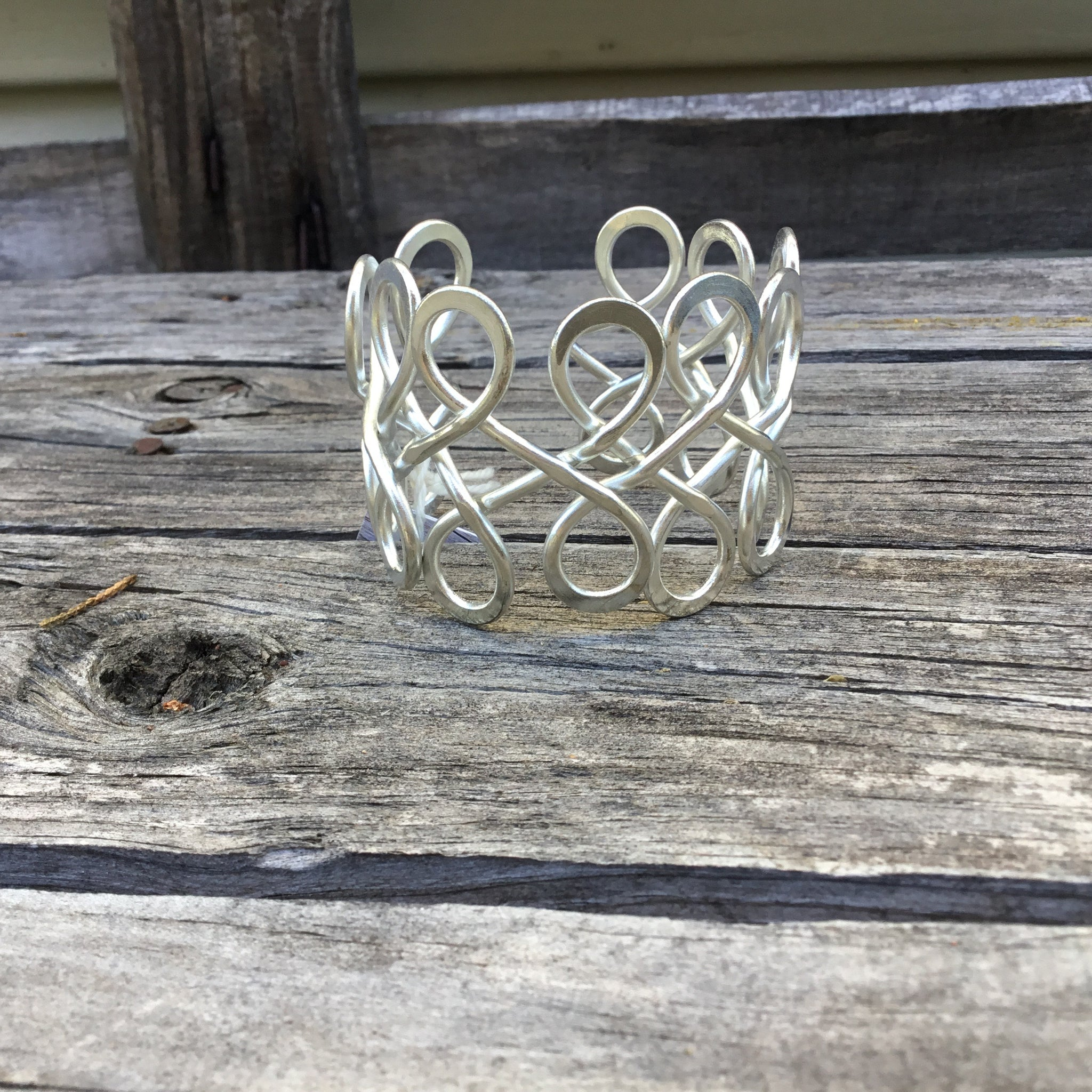 Fair Trade Ethical Metal Wire Cuff