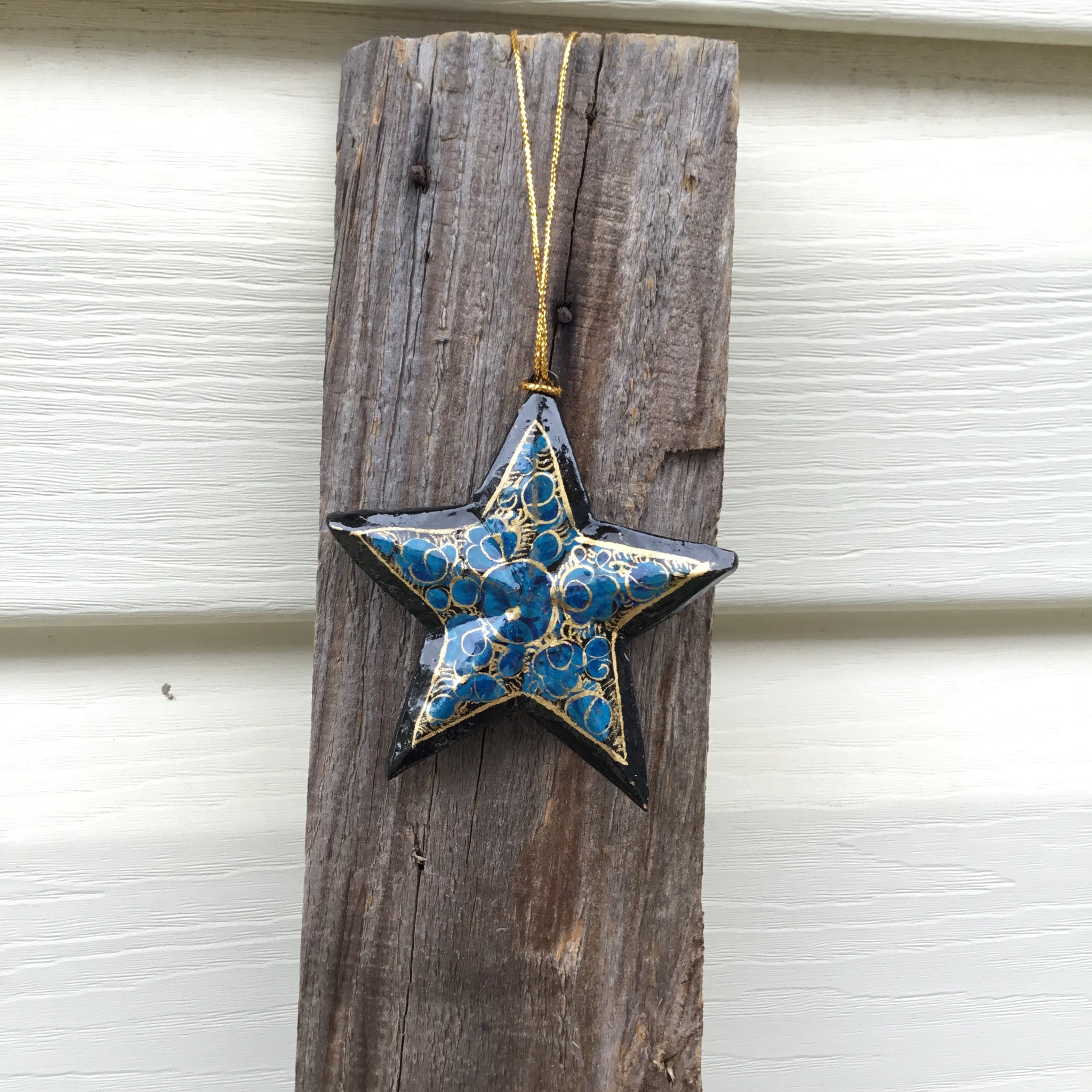 Fair Trade Ethical Christmas Decoration Hanging Star