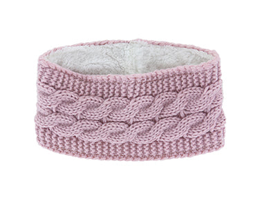 Britt's Knits Plush Lined Head Warmer