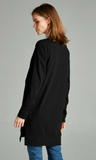 Criss Cross Solid Tunic with Side Pocket